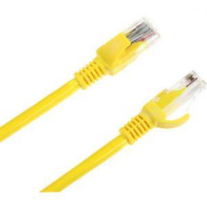 Cablu UTP Patchcord Cat 5e 15m Galben